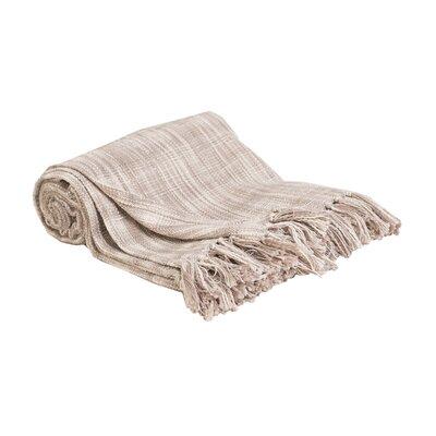 Deforge Cotton Throw Color: Dune