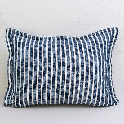 Bengal Stripe Sham Size: Standard, Color: Indigo