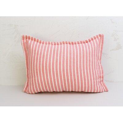Bengal Stripe Sham Size: Euro, Color: Azalea