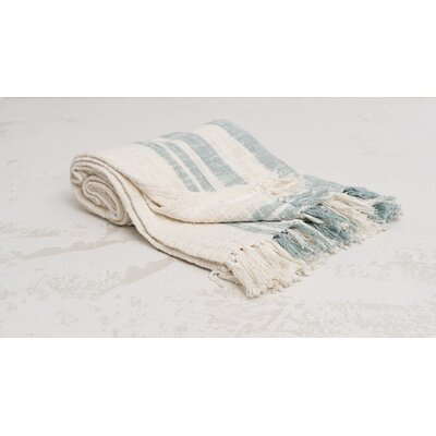 Morgan 100% Cotton Throw Color: Fountain