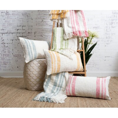Morgan 100% Cotton Lumbar Pillow