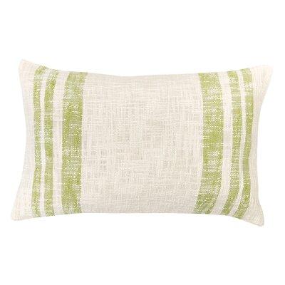 Morgan 100% Cotton Lumbar Pillow Color: Peridot