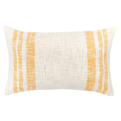 Morgan 100% Cotton Lumbar Pillow Color: Sunrise