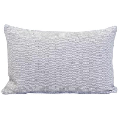 Blake 100% Cotton Lumbar Pillow Color: Dune