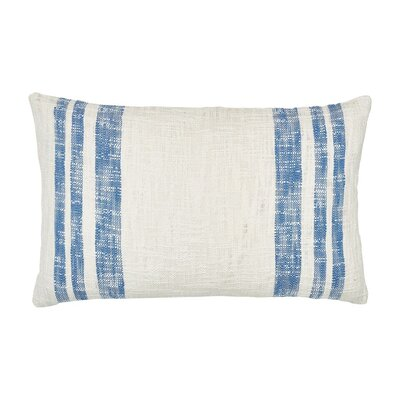 Morgan 100% Cotton Lumbar Pillow Color: Santorini