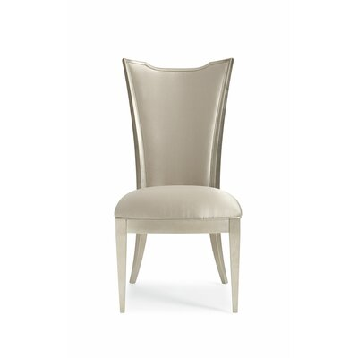 Leaf High Back Upholstered Dining Chair (Set of 2)