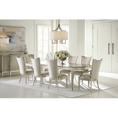 Maple Expansion 9 Piece Dining Table Set