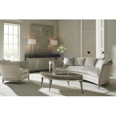 Curved Configurable Living Room Set