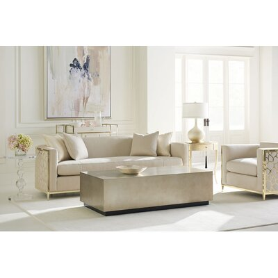 Metal Wrapped Configurable Living Room Set