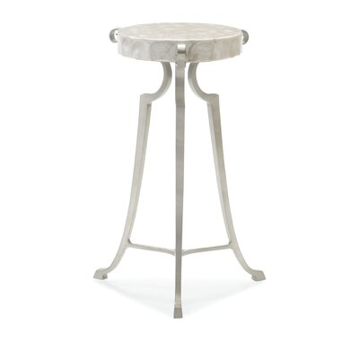 Capiz Shell End Table