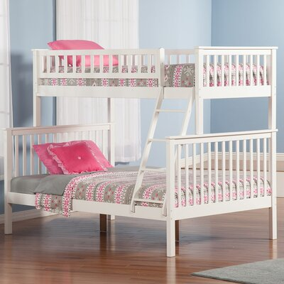 Shyann Bunk Bed Color: White
