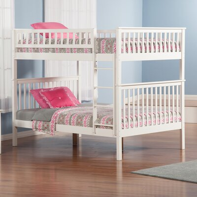 Shyann Bunk Bed Finish: White