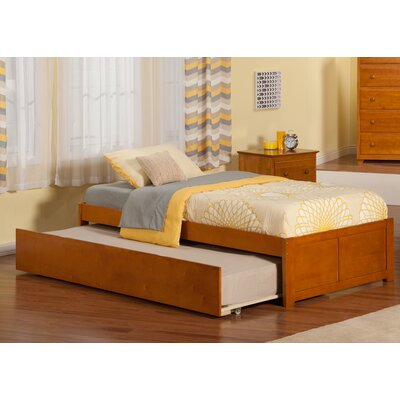 Greyson Platform Bed with Trundle Finish: Caramel Latte, Size: Full