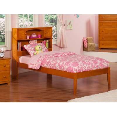 Newport Extra Long Twin Platform Bed Finish: Caramel Latte