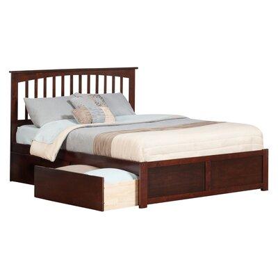 Davenport Nollet Platform Bed Size: King