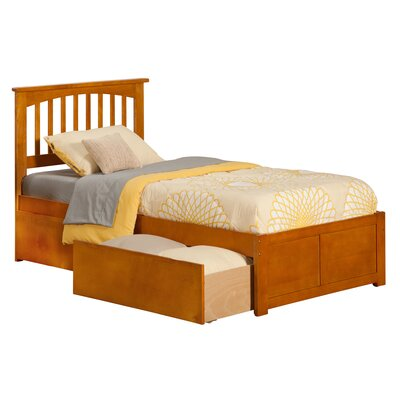 Davenport Storage Platform Bed Size: Twin