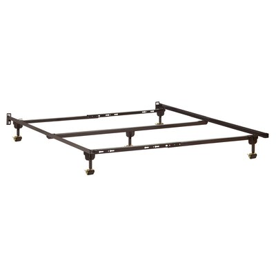 Premium Metal Bed Frame with Casters