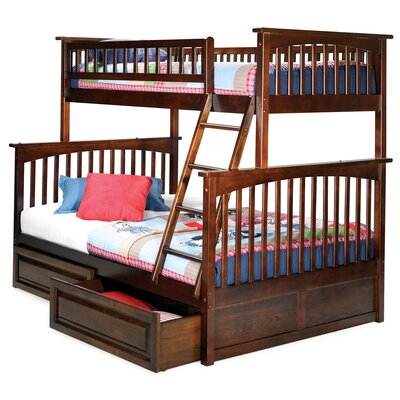 Lease to own Columbia Bunk Bed with Raised Panel...