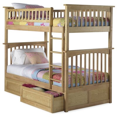 Furniture leasing Columbia Bunk Bed with Raised Panel...