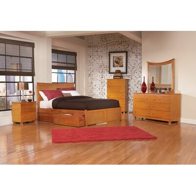 Furniture On Atlantic Furniture Miami Platform Flat Panel Bedroom Set