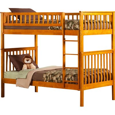 Shyann Twin Bunk Bed Finish: Caramel Latte