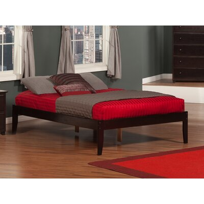 Jesse Platform Bed Color: Brown, Size: Full