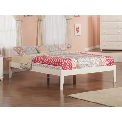 Tokarz Platform Bed Size: Queen, Color: White