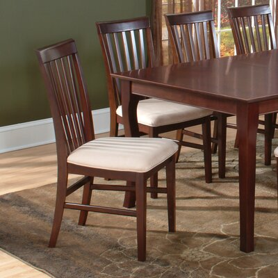 Buy Low Price Atlantic Furniture Mission Dining Chair Set Of 2 Dining Cha