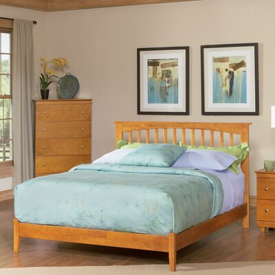 Davenport Platform Bed Size: King