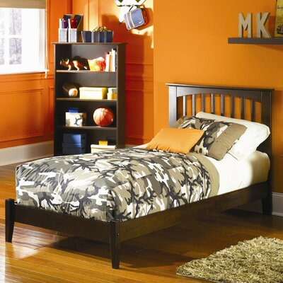 Bad credit financing Brooklyn Platform Bed with Open Foo...