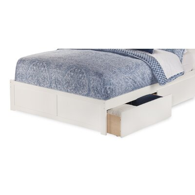 Aylin King Storage Platform Footboard