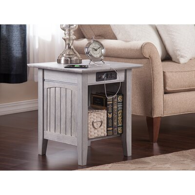 Glenni End Table with Storage