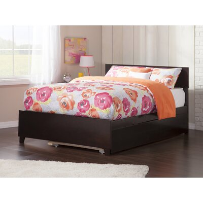 Greyson Full Platform Bed with Trundle Size: Full, Color: Espresso