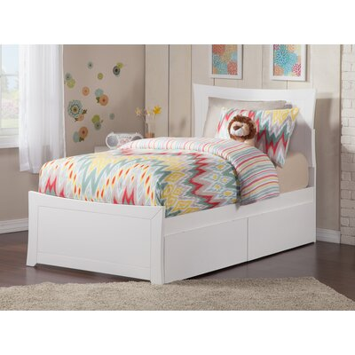 Ahmed Storage Platform Bed Color: White, Size: Twin