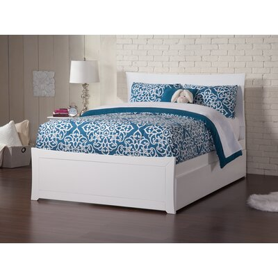 Ahmed Storage Panel Bed Color: Espresso, Size: Full