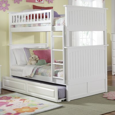 No credit check financing Nantucket Bunk Bed with Trundle Bed...