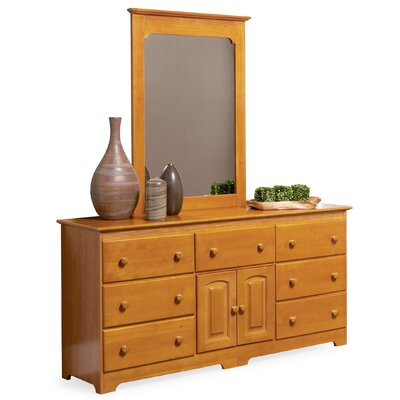 Bad credit financing Windsor 7 Drawer Combo Dresser with...