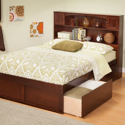 Lifestyle Furniture on Atlantic Furniture Urban Lifestyle Newport Bookcase Bed With Bed