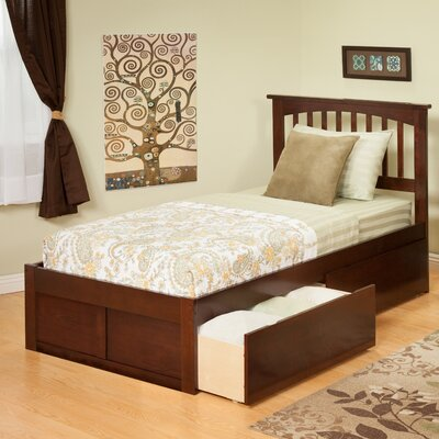 Rent to own Urban Lifestyle Mission Bed with Be...
