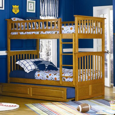 Easy financing Columbia Bunk Bed with Trundle Bed ...