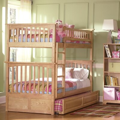 Bad credit financing Columbia Bunk Bed with Trundle Bed ...