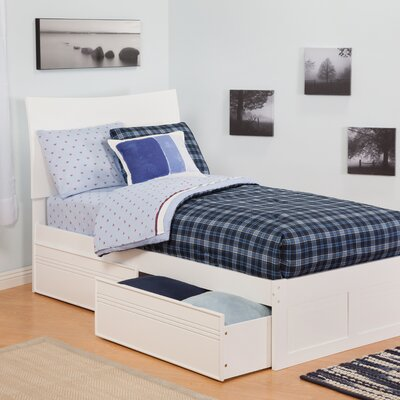 Atlantic Furniture Urban Lifestyle Soho Bed with Bed Drawers Set