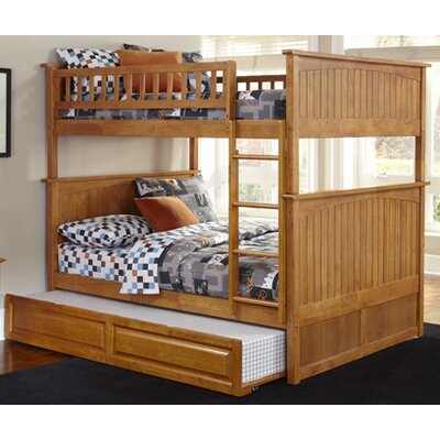 Furniture rental Nantucket Bunk Bed with Trundle Bed...