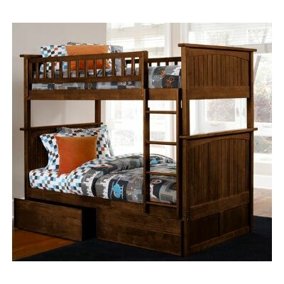 nantucket twin storage bunk bed