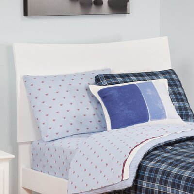 Soho Sleigh Headboard Size: Twin, Finish: White