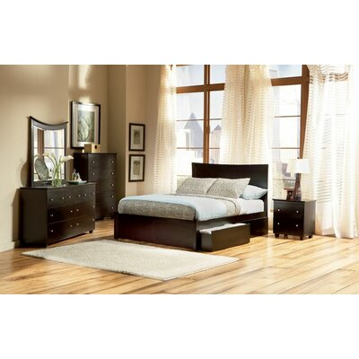 Atlantic Miami Platform Bed Underbed Storage Drawers at Sears.com