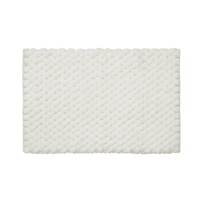 Lowville Shag Hand-Woven White Area Rug Rug Size: 19 x 210