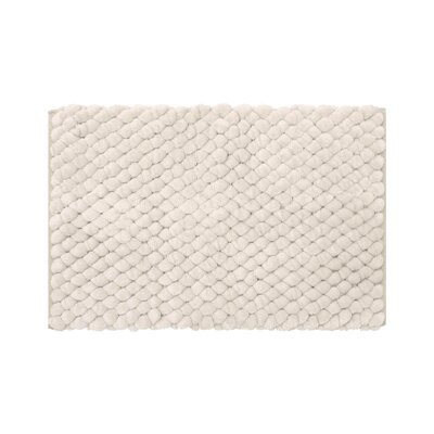 Lowville Shag Hand-Woven Beige Area Rug Rug Size: 23 x 39