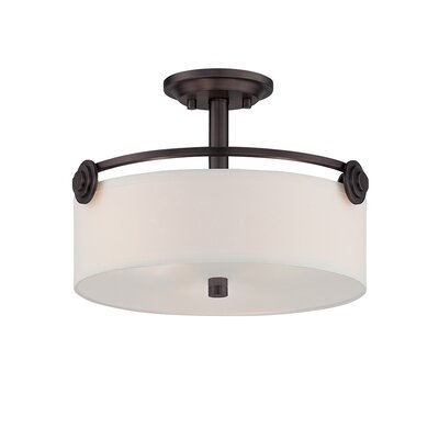 Westhope 3-Light Semi Flush Mount Finish: Old English Bronze