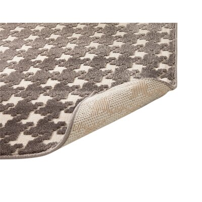 Highlands Charcoal/Ivory Area Rug Rug Size: 53 x 76